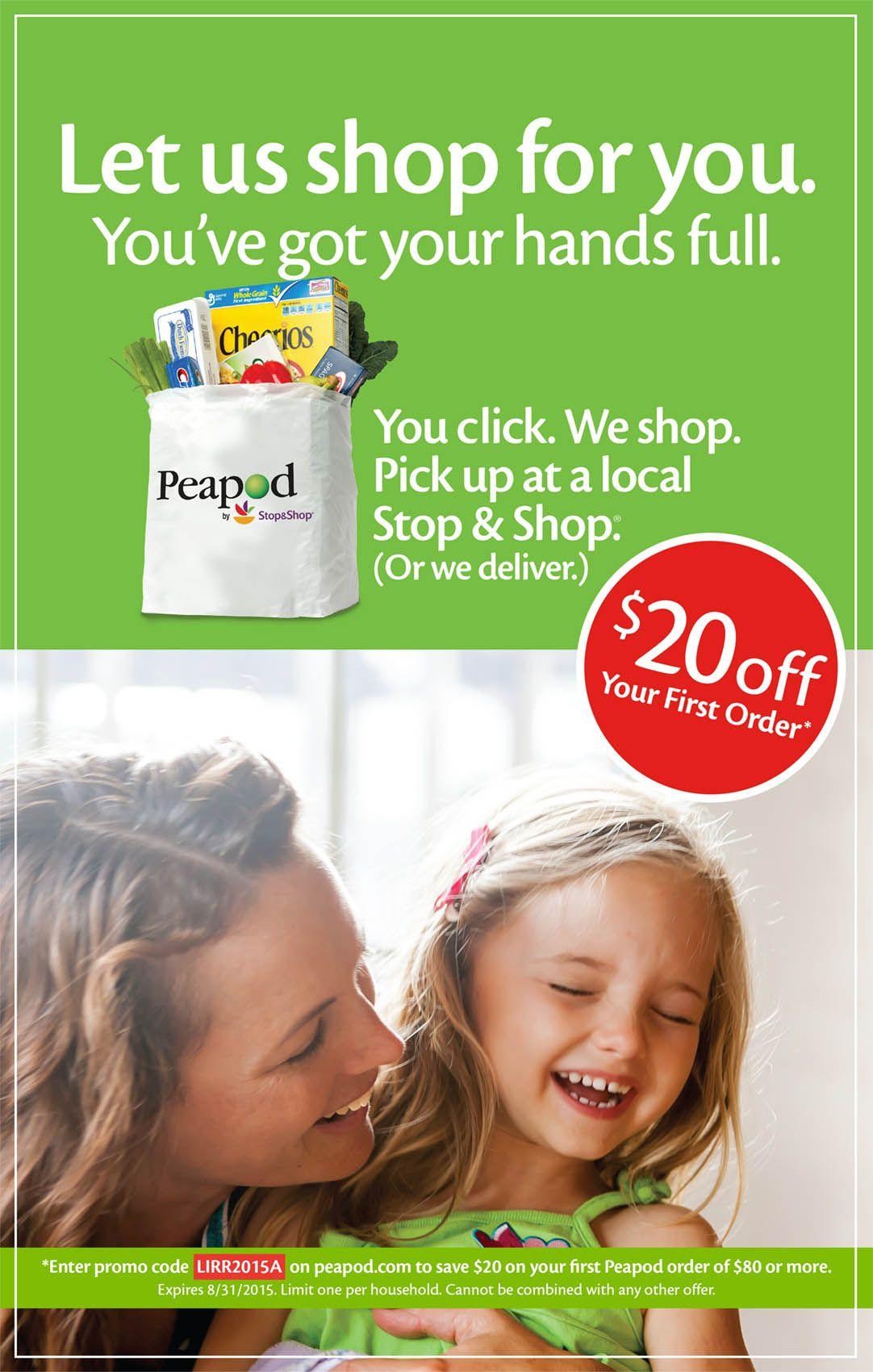 Peapod  advertisement