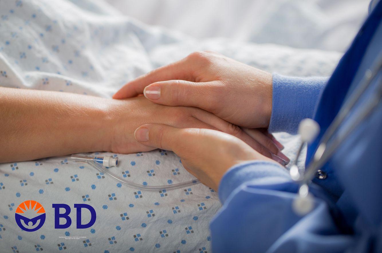 nursing hands