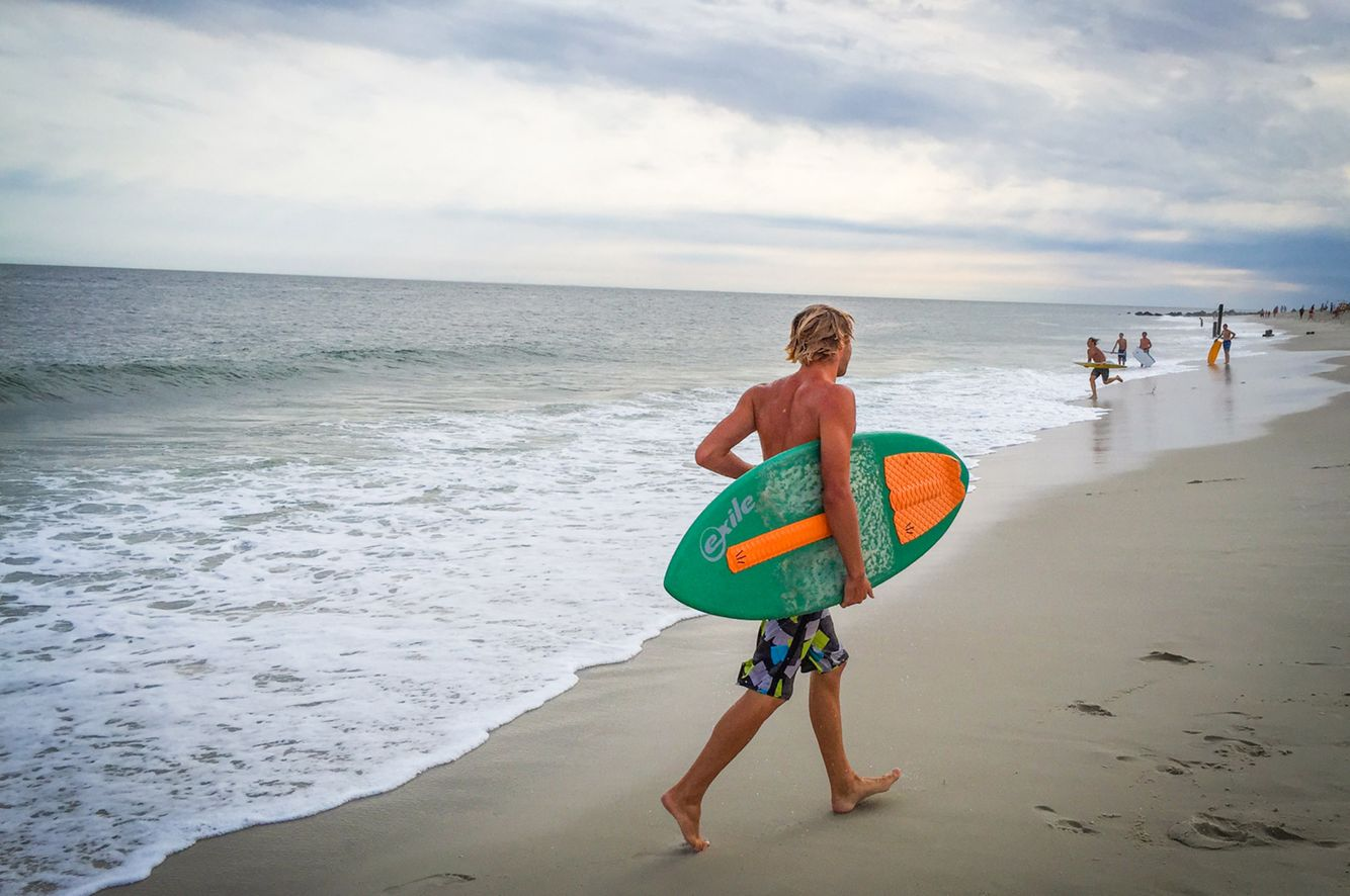 Cape May Surfer