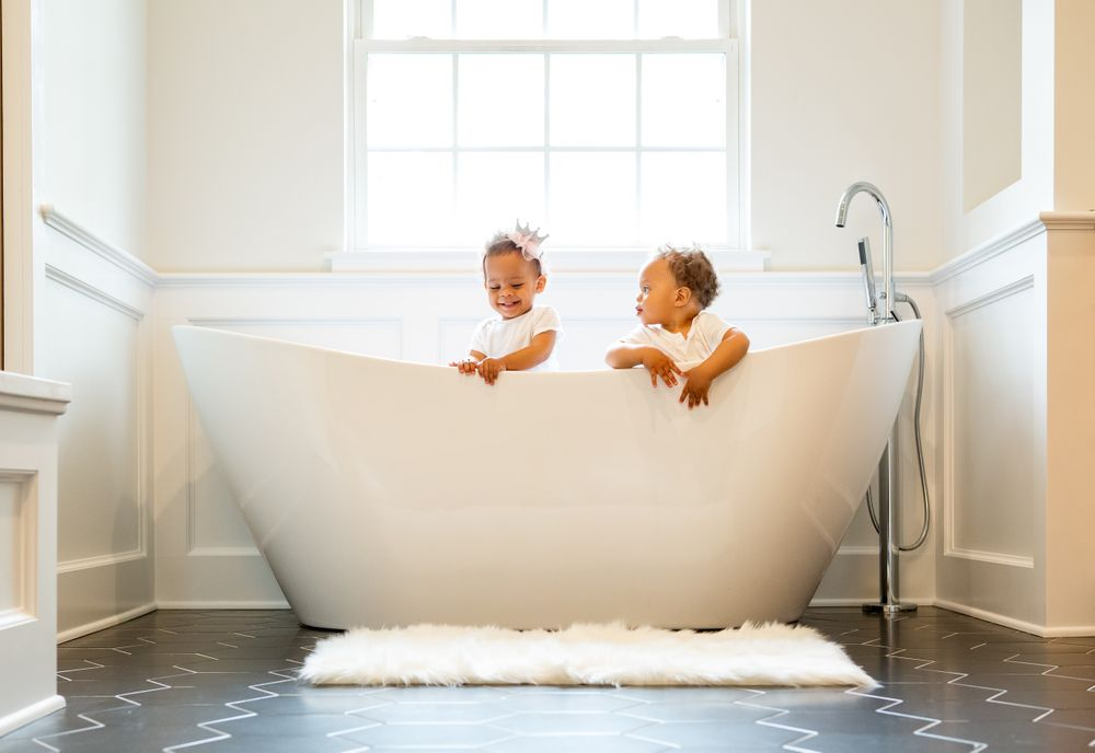 Babies in the Bath