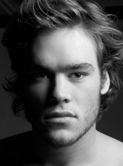 Men's Portrait in Black and White