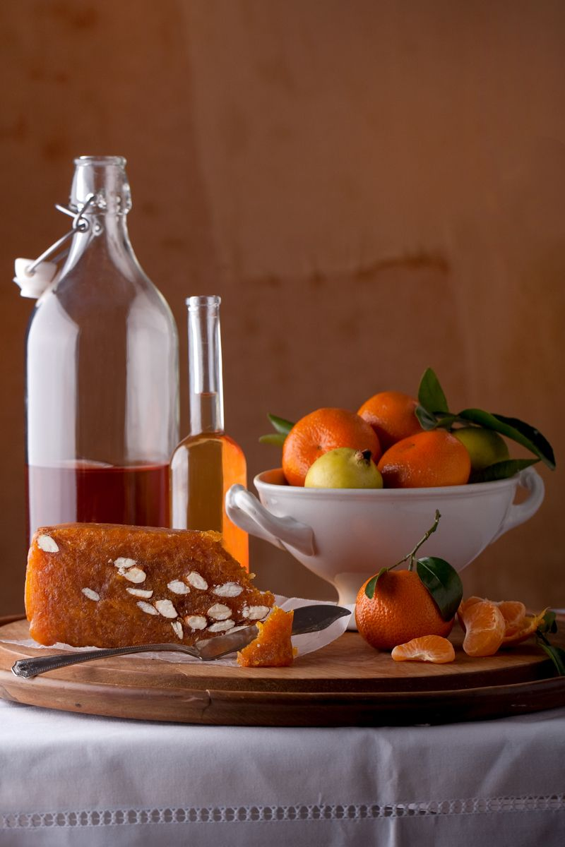 Vemeer like still life liquer, tangerines and marmaladewww.rkjacobs.comTop Food Photographer New York Seattle PortlandRobert Jacobs Photography ©2013