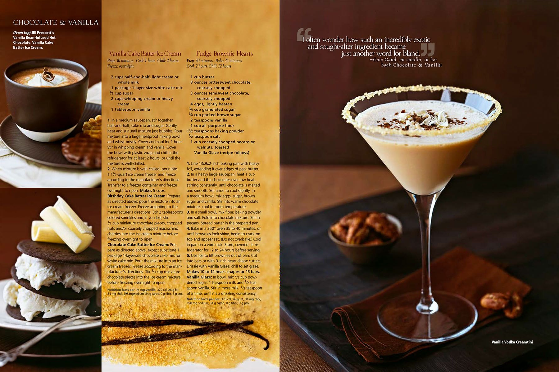 Chocolate martini, hot cocoa, chocolate ice cream cookies for  Chocolate & Vanilla story for Midwest Living Magazinewww.rkjacobs.comTop Food Photographer New York Seattle PortlandRobert Jacobs Photography ©2013