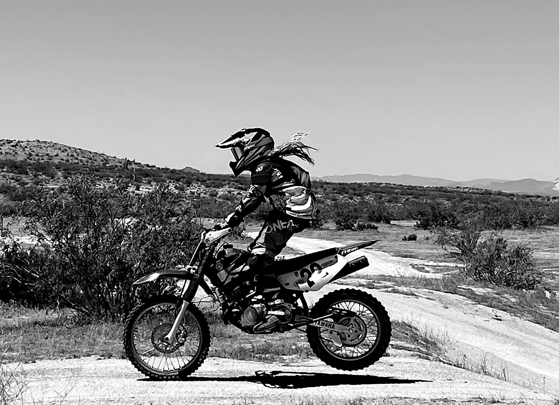 Ella Dirt Bike B&W.jpg
