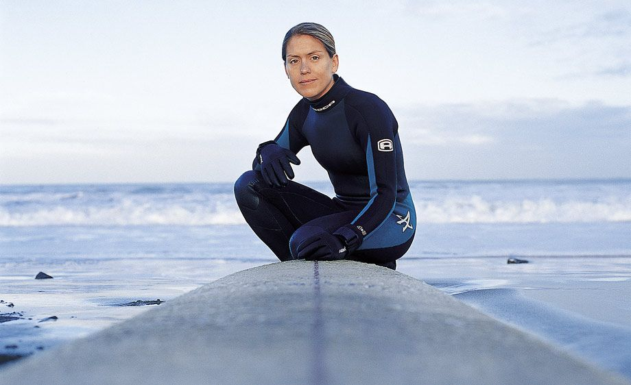 Female Surfer San Francisco