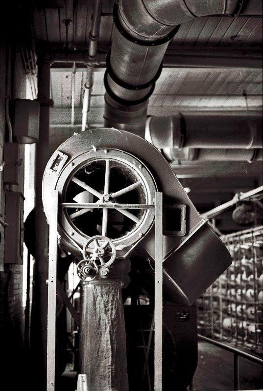 Textile Factory, Thomaston, Georgia 2012Gelatin-silver photograph, Selenium-toned