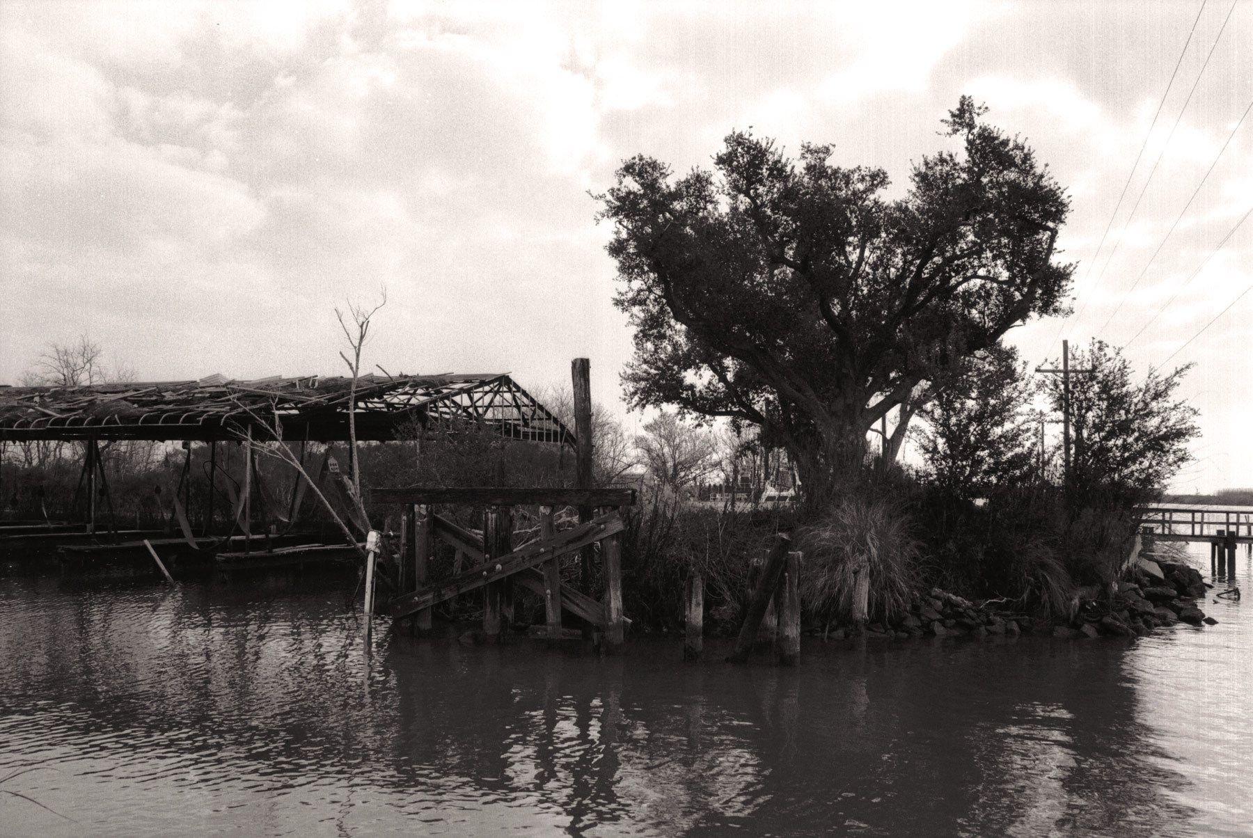 Abandoned Boat Docks, Delacroix, LA 2011