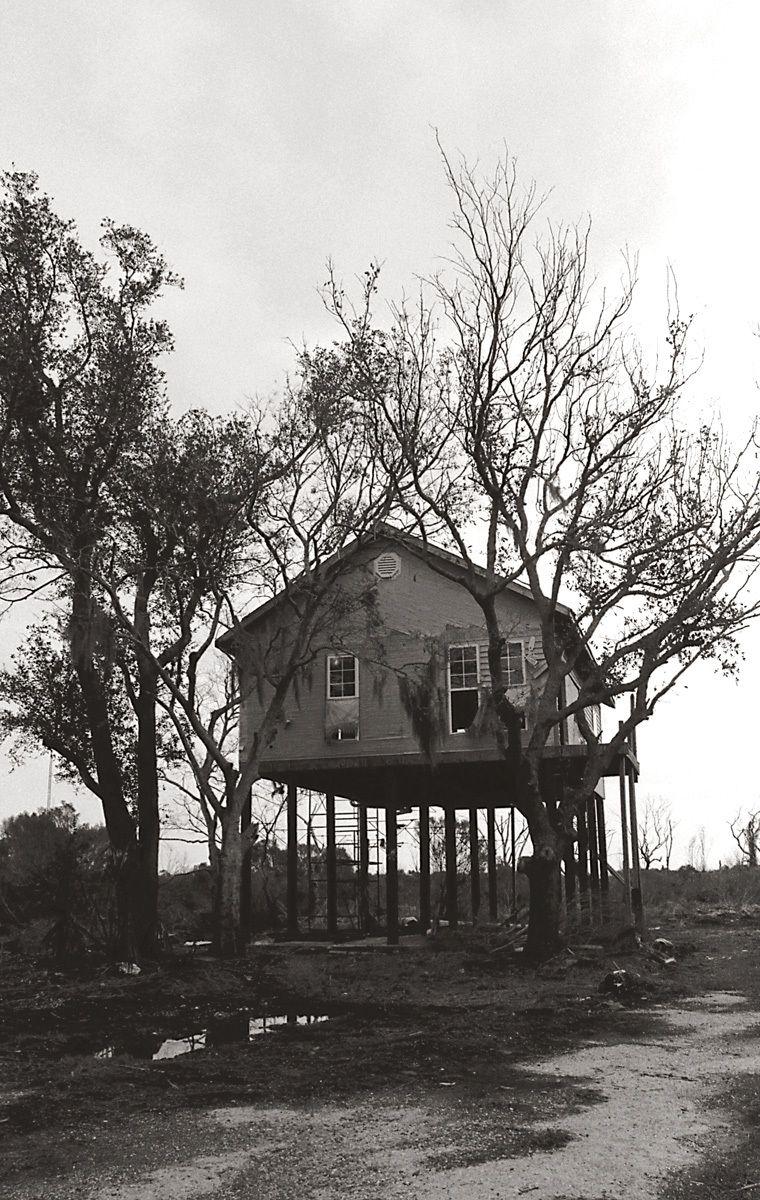 Abandoned House, Delacroix, LA 2011