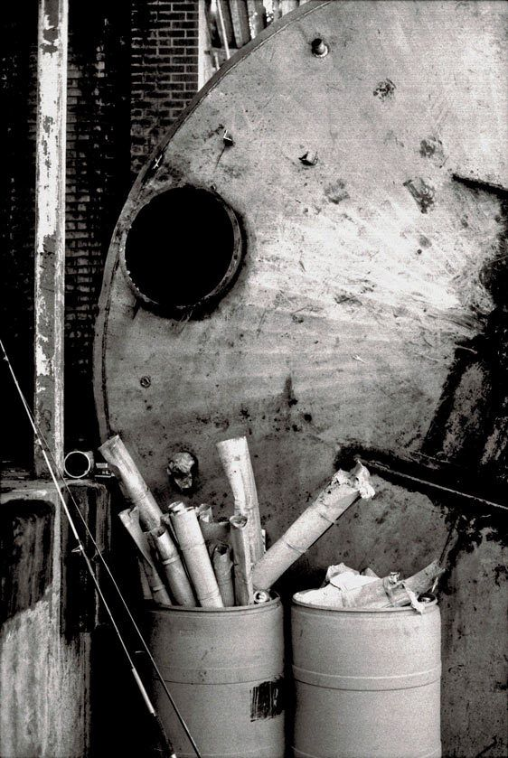 Red Star Yeast Factory (abandoned), Belle Chasse, LA 2011Gelatin-silver photograph, selenium toned