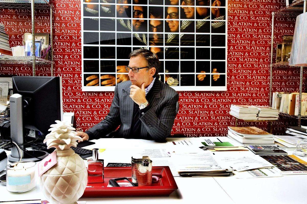 "Harry SlatkinCEO of Belstaff fashion label & the ""king"" of home fragrance"