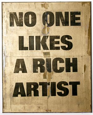 No One Likes A Rich Artist, 2021