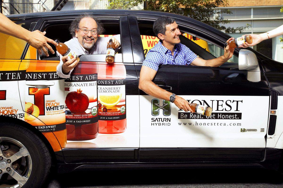Barry Nalebuff & Seth Goldmanpresidents of Honest Tea