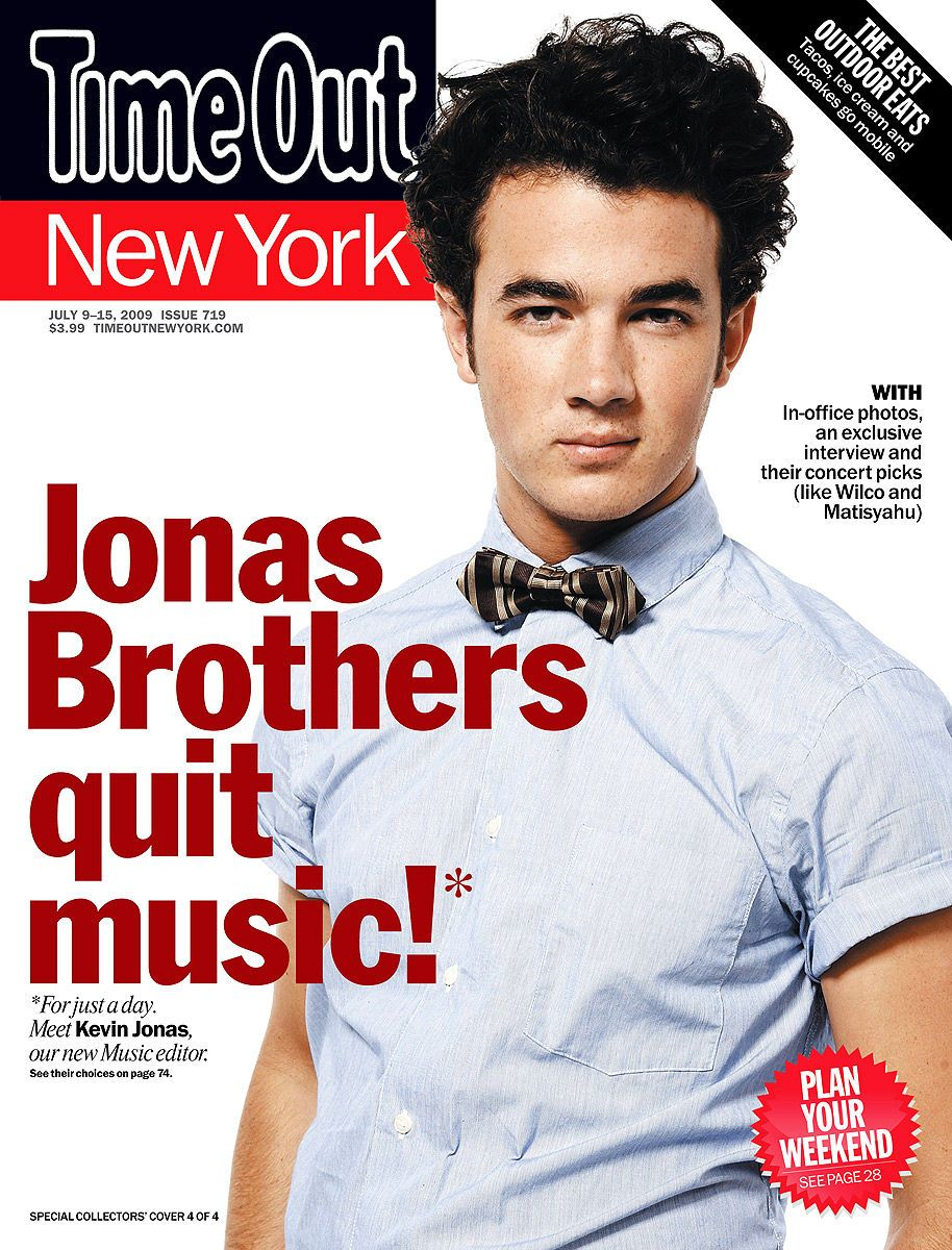 Kevin Jonasfor Time Out NY