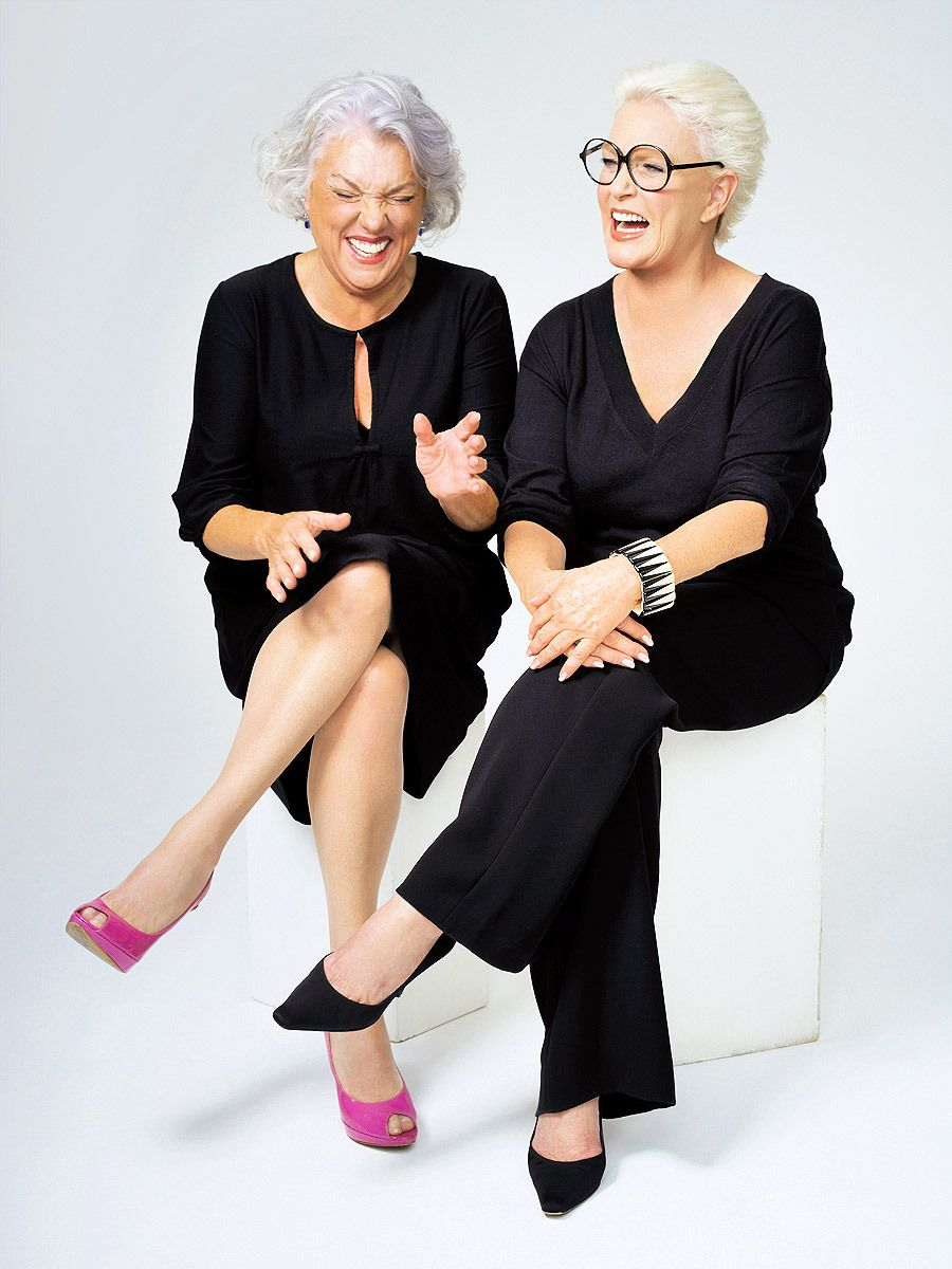 Tyne Daly and Sharon Gless of Cagney & Lacey