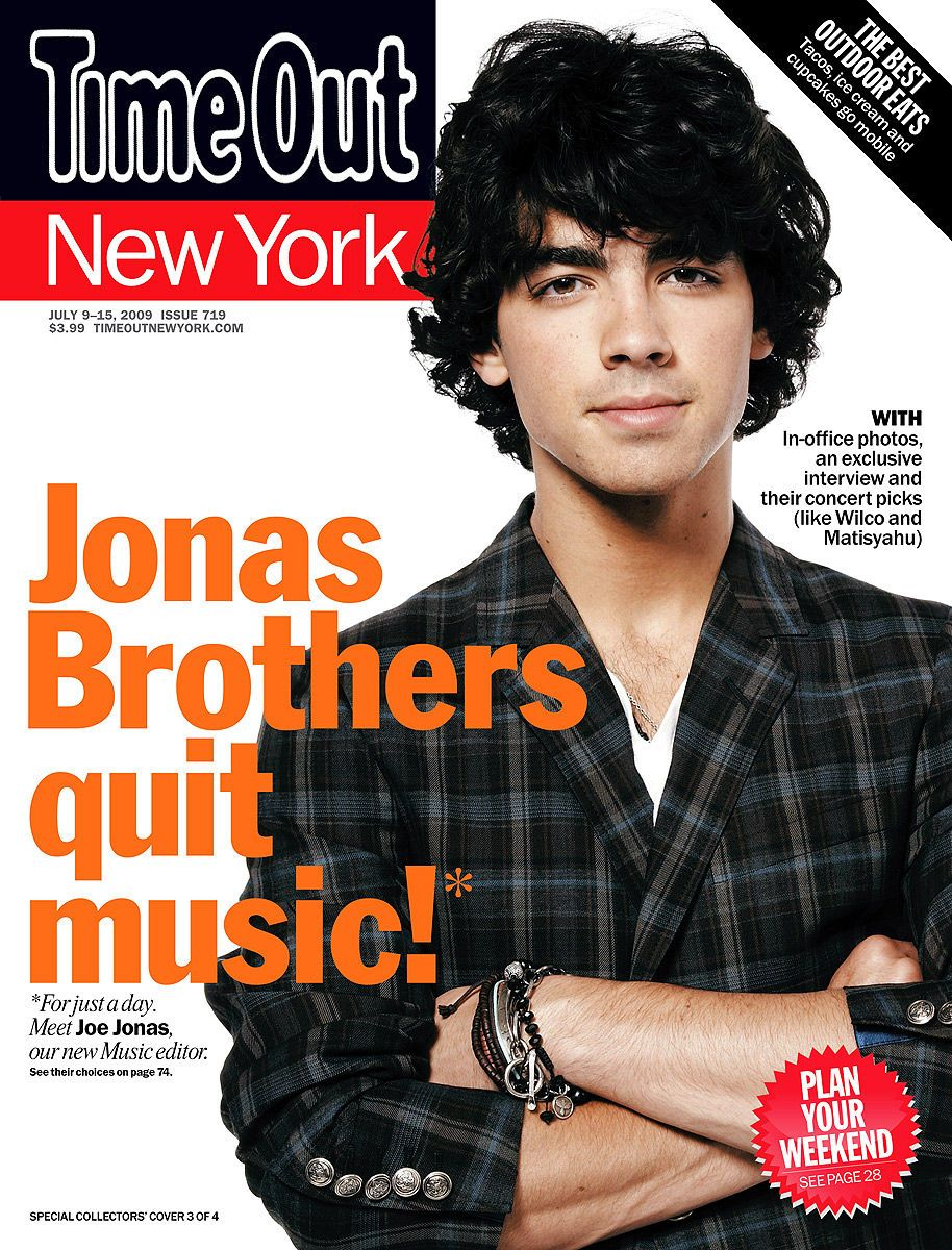 Joe Jonasfor Time Out NY