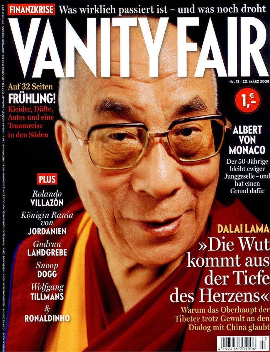 The Dalai LamaGerman Vanity FAir