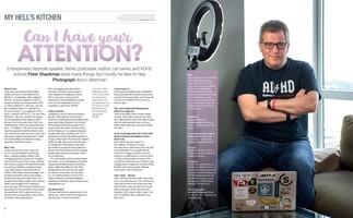 Peter Shankman, W42ST  Magazine, August 2018