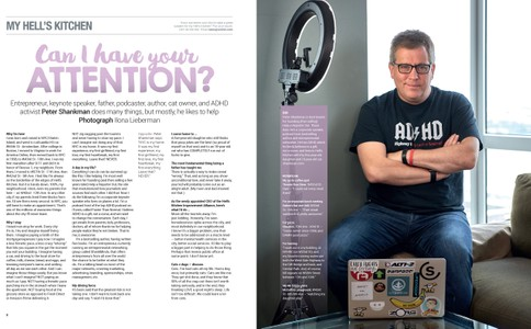 Peter Shankman, W42ST  Magazine, August 2018