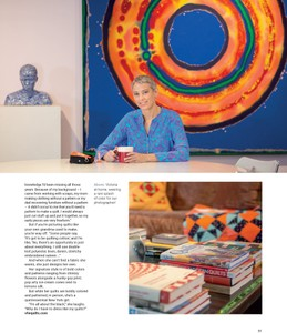 Victoria Findlay Wolfe, W42ST Magazine, May 2018