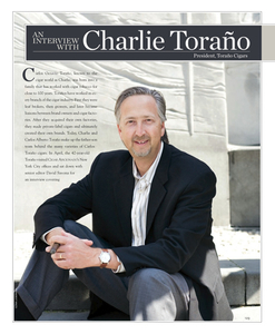 Charlie Torano, President, Torano Cigars