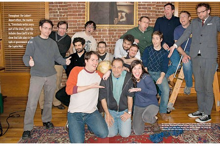 Writing Team of The Colbert Report, The Colbert Report