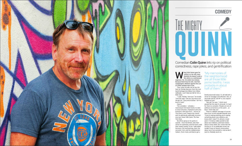 Colin Quinn, Comedian, Writer, Actor