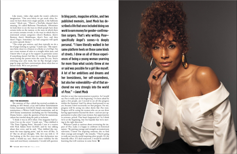 Janet Mock, Writer , Dorector, and Producer 'Pose'