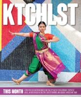 Bharathi Penneswaran, Dancer & Teacher, Ktchlstr Cover, W42ST Magazine, April 2018