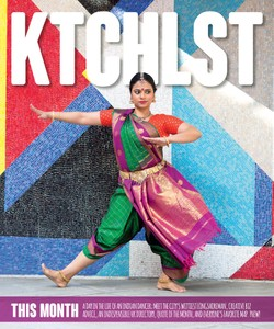 Bharathi Penneswaran, Dancer & Teacher, Ktchlstr Cover, W42ST Magazine, April 2018