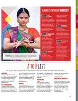 Bharathi Penneswaran, W42ST Magazine, April 2018