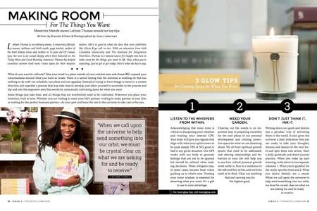 Mama Glow, Thoughtfully Magazine, Issue 2, 2015