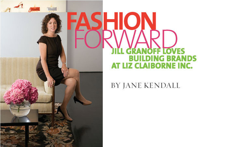 Jill Granoff, Group President of Liz Claiborne Inc.