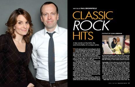 "Tina Fey and Robert Carlock, Writers of ""30 Rock"""