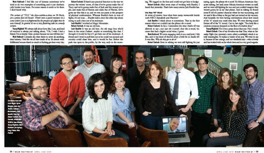 "Writers of ""30 Rock"""