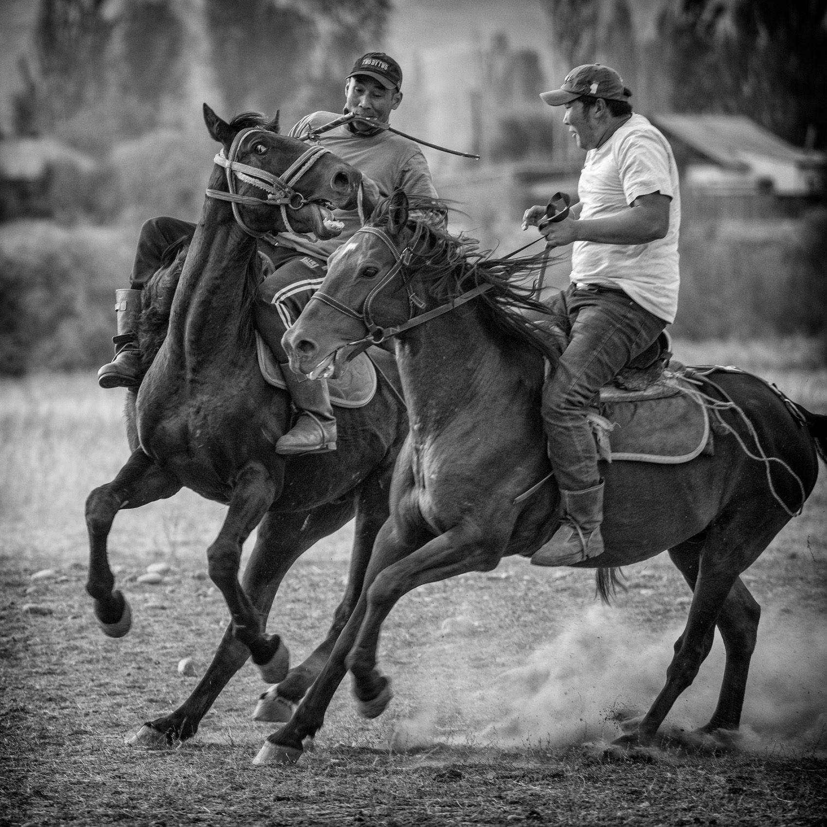 KYRGYZSTAN:  Horseplay