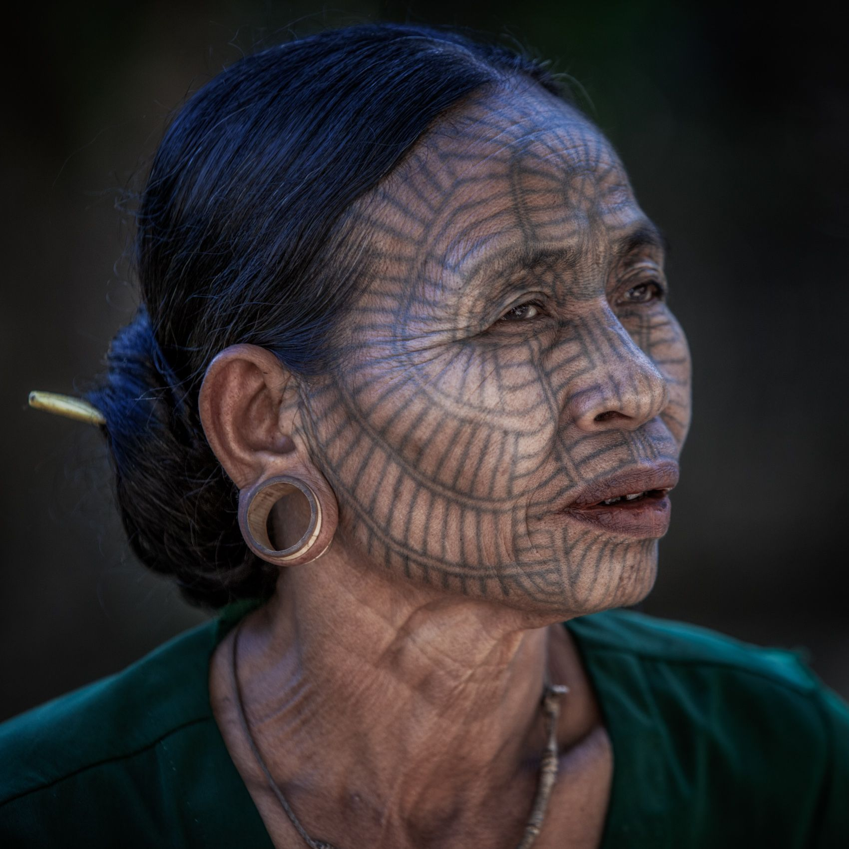 MYANMAR:  The Last Generation of Tattooed Women