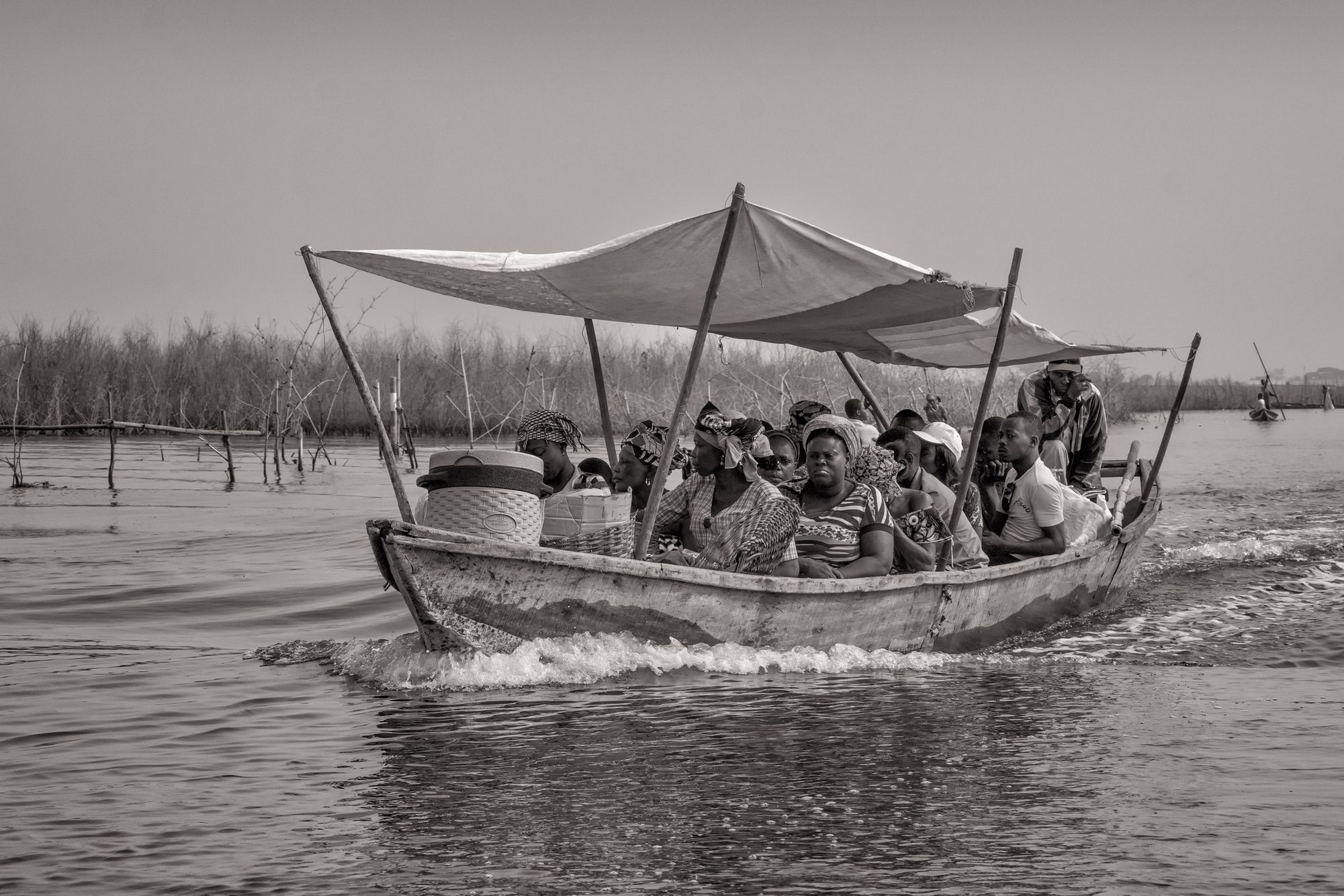 BENIN:  Ganvie:  Living on Water