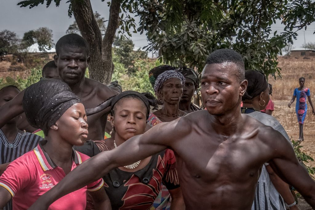 GHANA:  Celebrations of Death in Two Northern Tribal Villages