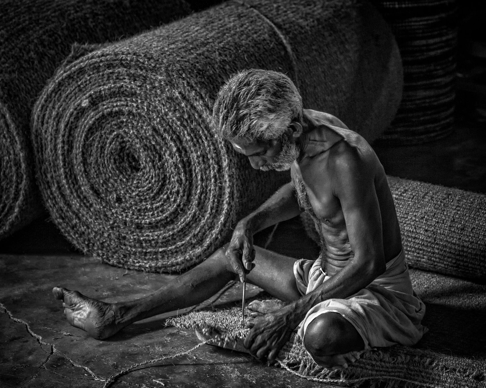 INDIANS AT WORK III:  Leather and Textile Workers