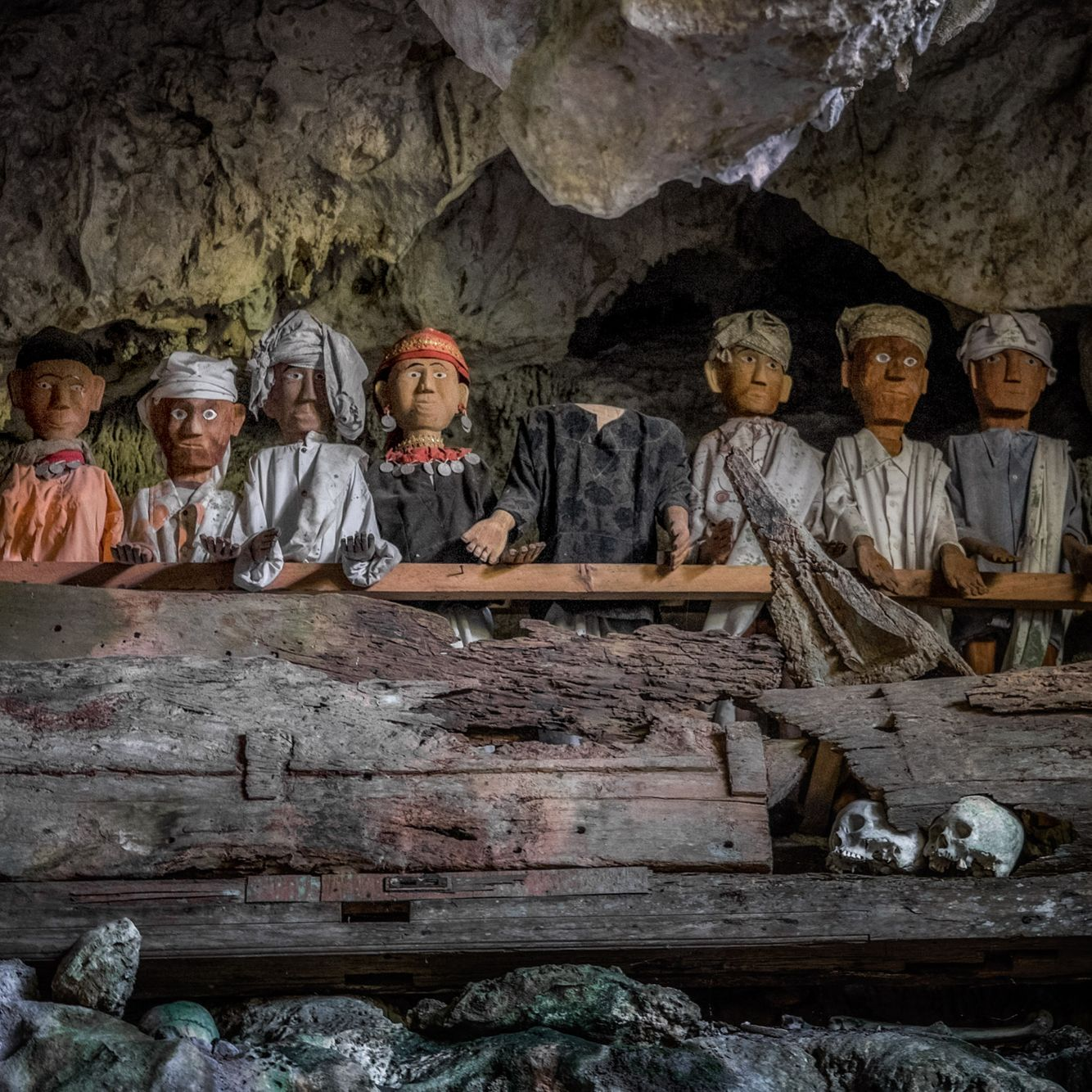 INDONESIA:  The Living and the Dead in Tana Toraja