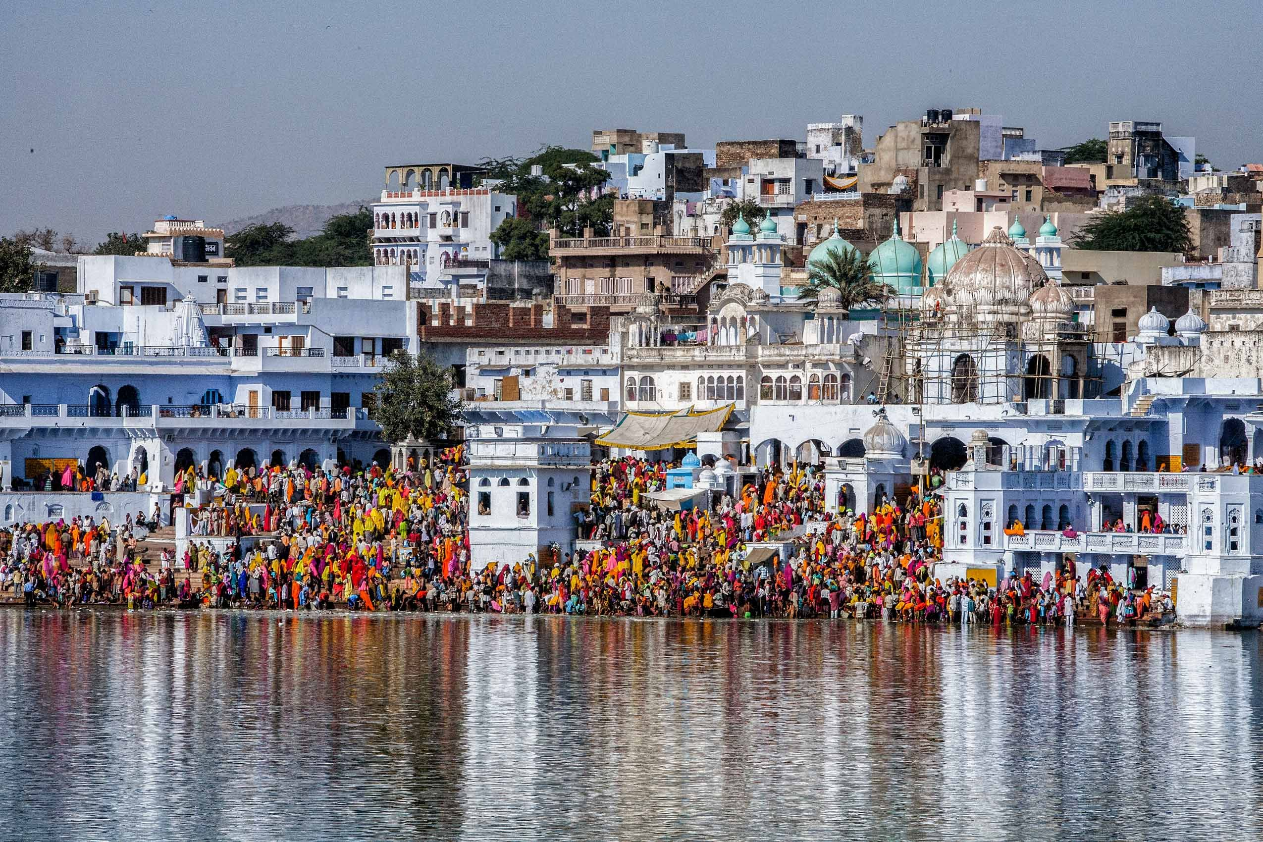 INDIA:  The Pushkar Mela I—The Sacred Lake
