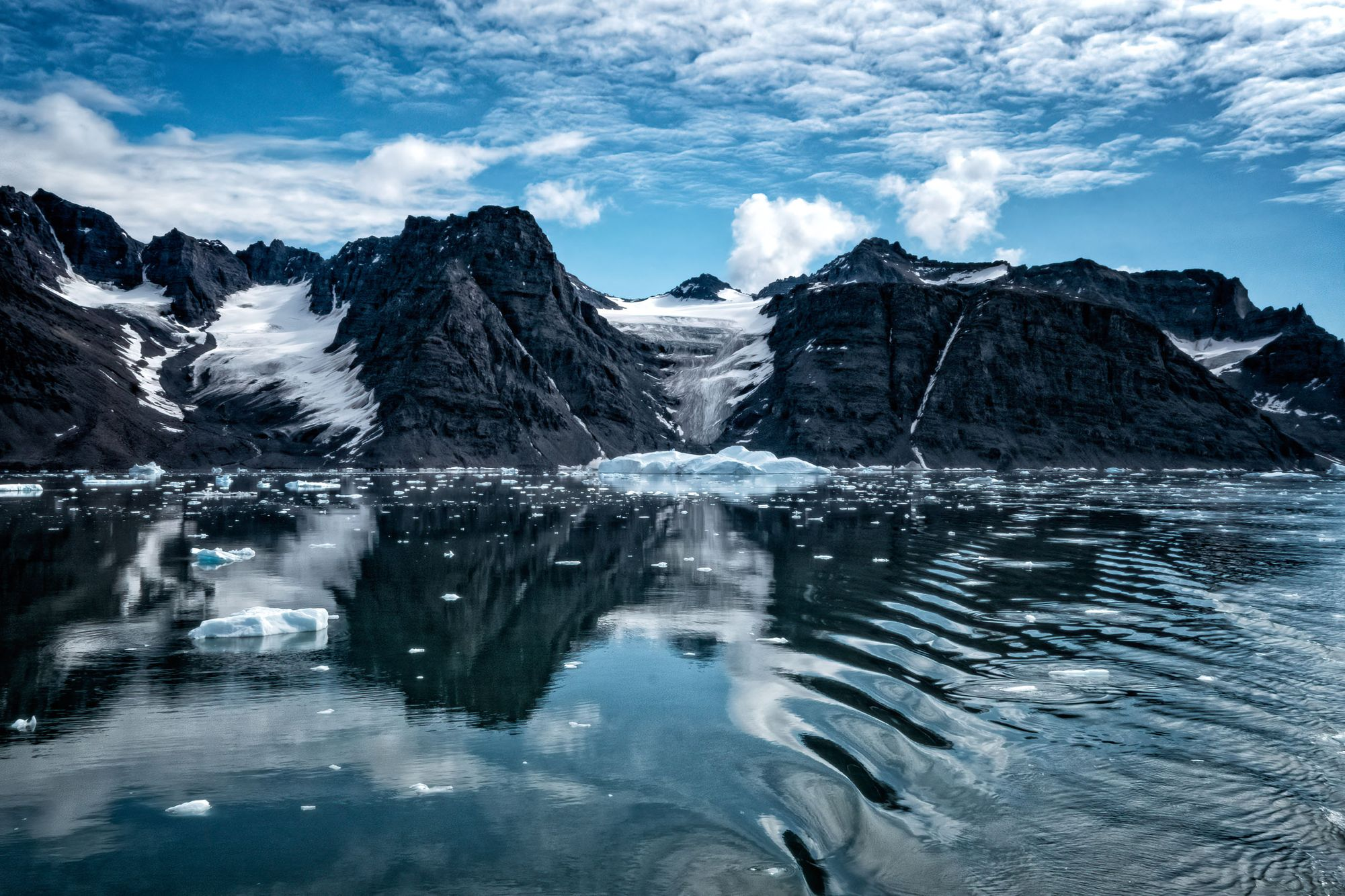 ARCTIC LANDS AND WATERS:  On and Around Svalbard, Eastern Greenland, and Jan Mayen