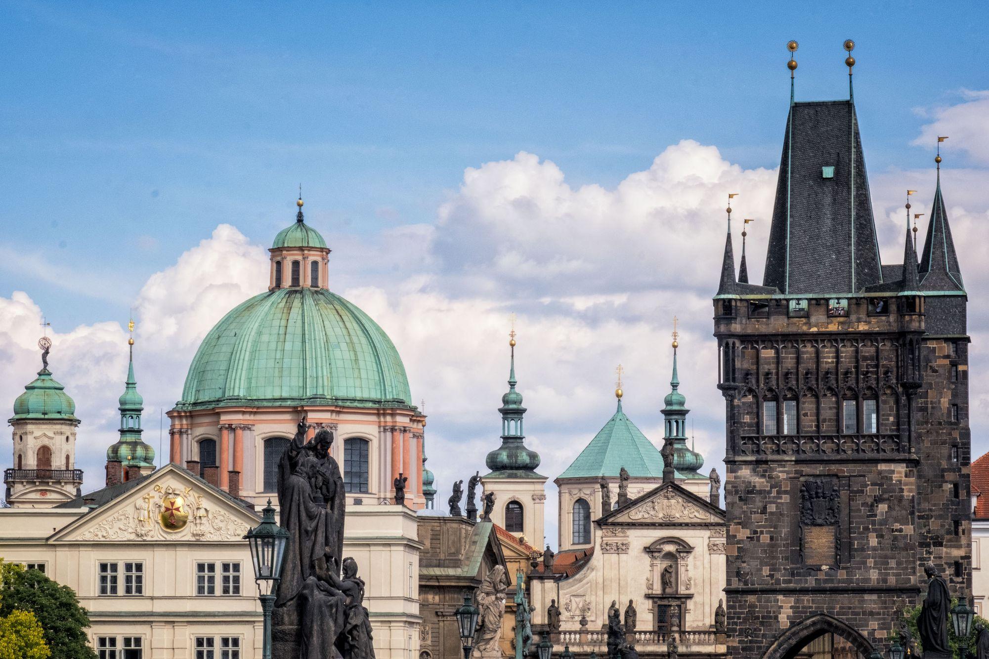 CZECH REPUBLIC:  Prague Cityscapes