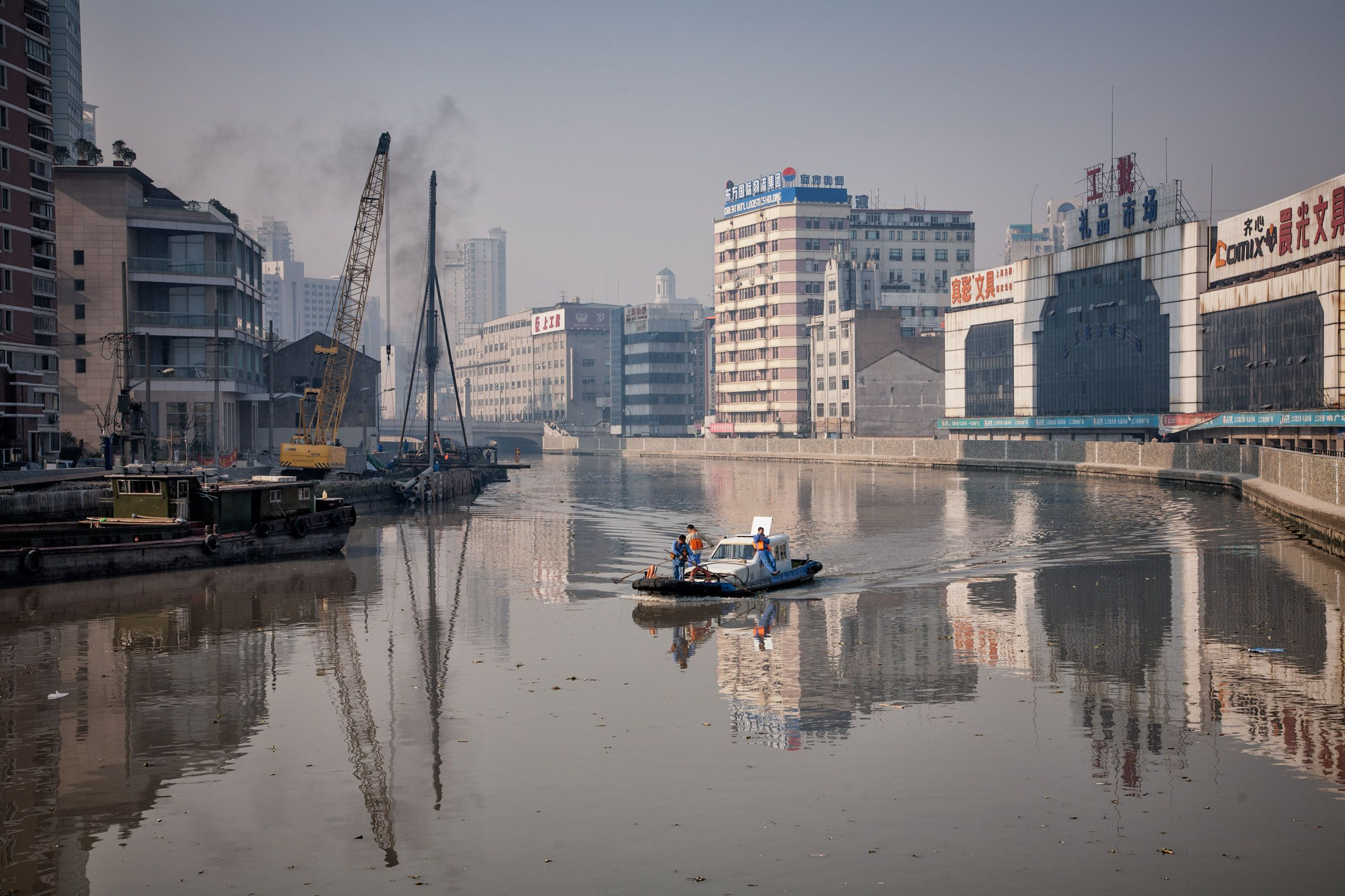 CHINA:  The Other Side of Shanghai