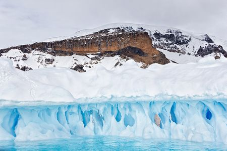 Brown-Bluff-rock-face-showing-behind-ice-berg-sculpture_E7T4871-Brown-Bluff-Antarctica.jpg