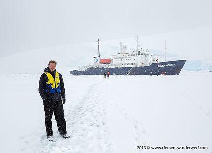 Clemens-posing-with-the-polar-Pioneer_S6A0514-Port-Lockroy-Antarctica.jpg