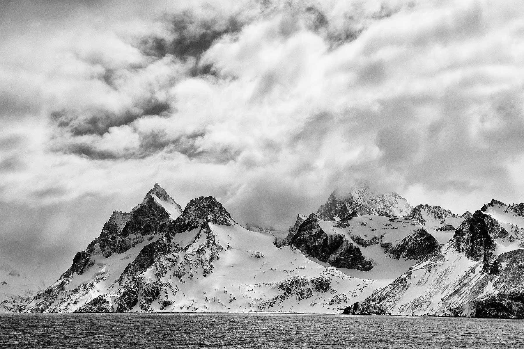 Entrance-to-Drygalski-Fjord_B&W_S6A1413-Drygalski-Fjord,-Cooper-Sound,-South-Georgia-Islands,-Southern-ocean.jpg