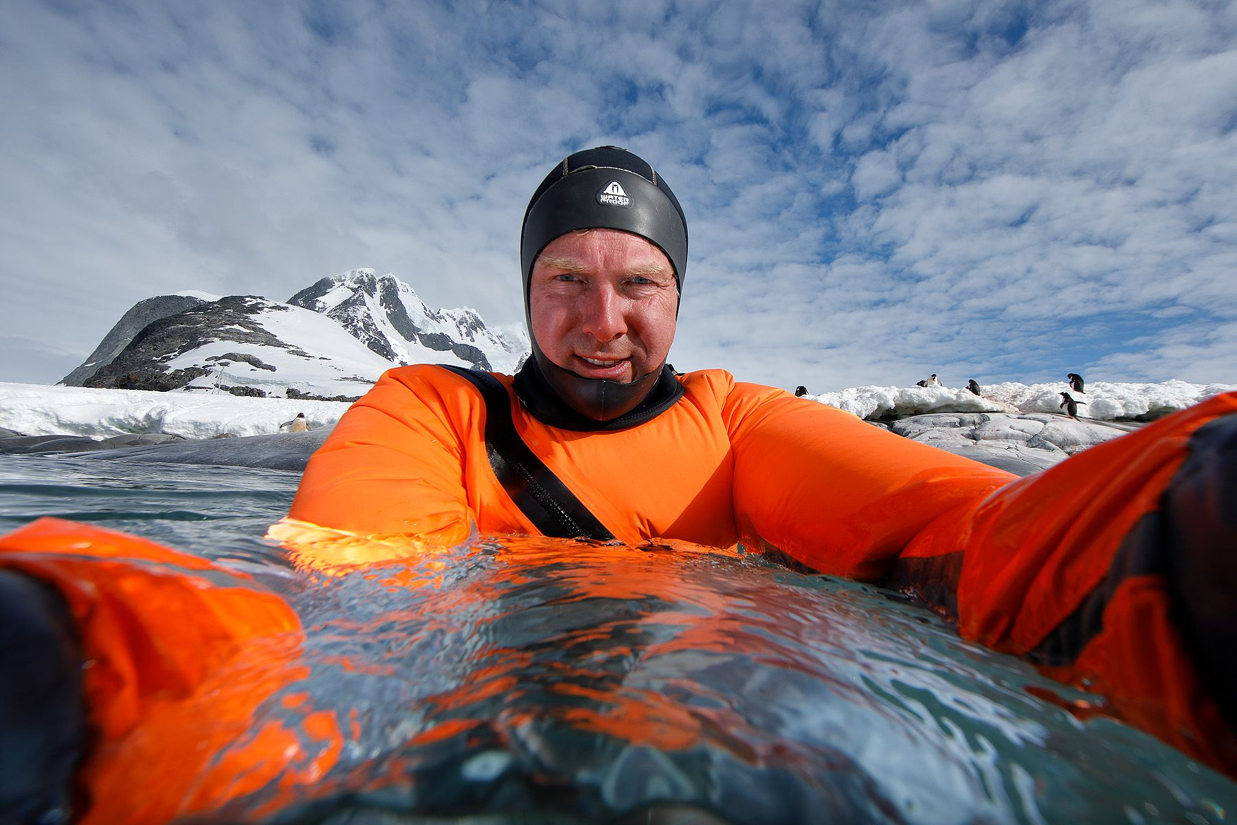 Clemens in freezing cold water_83A6884-Port Charcot, Booth Island, Antarctica.jpg