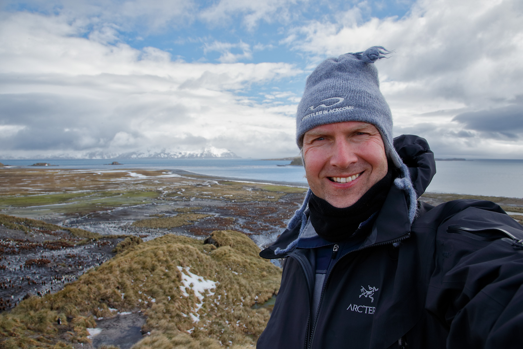 Clemens Selfie at Salisbury_E7T3601-Salisbury Plain, Bay of Isles, South Georgia Islands, Southern ocean.jpg