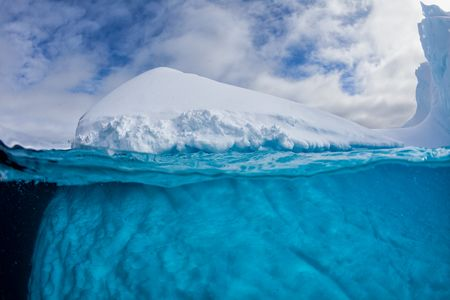Iceberg with underwater view_MG_9496-Lemaire Channel, Gerlache Strait, Antarctica.jpg
